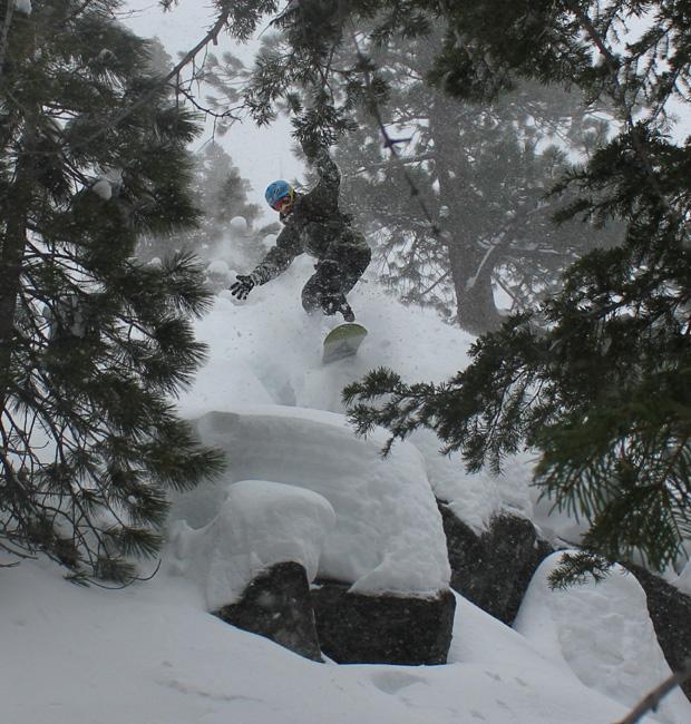 skiing pillows