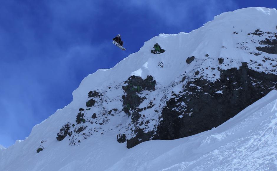 kirkwood snowboarder air